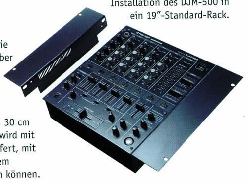 PIONEER Räkki kiinike DJM 750, 800 ja 8, discoland.fi