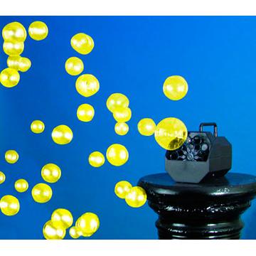 EUROLITE UV-Saippuakuplaneste 1 litra, keltainen UV-valossa hohtava keltainen. Saippuakuplaneste luo tavallisia saippuakuplia. Yleisvaatimukset täyttävä, kaikkiin saippuakuplakoneisiin yhteensopiva. Sopii discoihin, bileisiin ja konsertteihin.