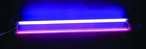 EUROLITE LED LT-100 red clear, LED valaisin hienolla efektillä!