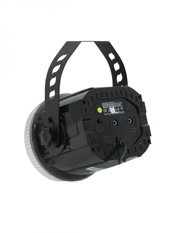 EUROLITE Techno Strobe 350, strobovalo, ohjattavissa 0-10V signaalin ulos antavilla ohjaimilla.