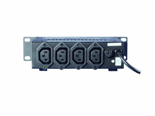 EUROLITE EUROLITE MINI-4E valo-ohjain 4 x 1150W IEC sockets, pieni valo-ohjain. Ääniohjautuu sisäänrakennetulla mikrofonilla. Nopeuden säätö 4 kanavaa. Kytkentä 4 IEC pistokkeella. Mitat 220 x 150 x 50 mm sekä paino 1kg.