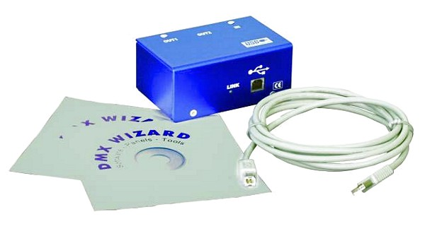 FUTURELIGHT Wizard-1024 USB DMX-Software, discoland.fi