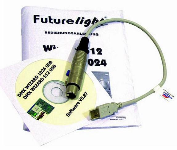 FUTURELIGHT Wizard-512 valoohjain ohjelm, discoland.fi
