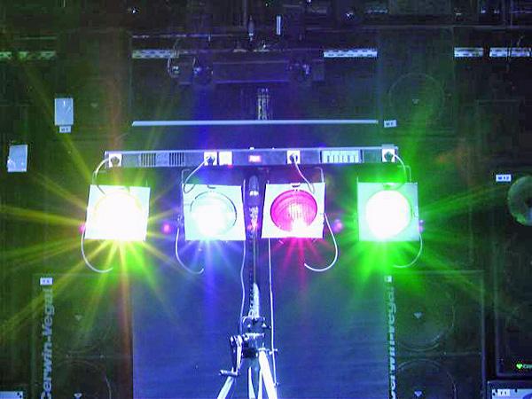 EUROLITE DTB-405 4 x 1150W  Light Dimmer, discoland.fi