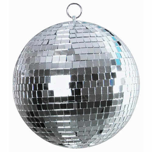 LIGHT4YOU Mirror ball 25 cm in box, Peil, discoland.fi