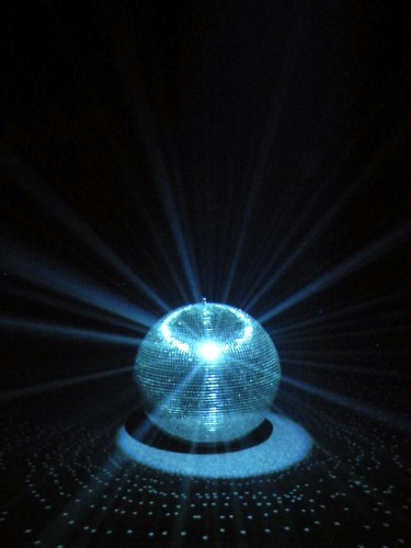 LIGHT4YOU Mirror ball 35 cm without motor/ Peilipallo/ ns. discopallo