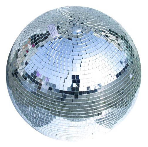 LIGHT4YOU Mirror ball 35 cm without moto, discoland.fi