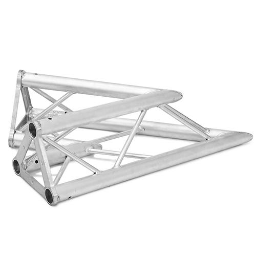 ALUTRUSS TRISYSTEM 2-tie kulmapala 45° PAC-19 50mm putkesta tehty kulma joka sopii Trisystem kokonaisuuksiin. Kulmapalan paino 3,6kg. 2-way corner piece