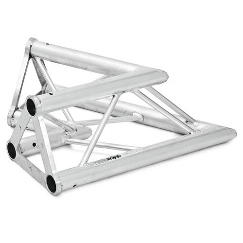 ALUTRUSS TRISYSTEM 2-tie kulmapala 60° PAC-20 50mm putkesta tehty kulma joka sopii Trisystem kokonaisuuksiin. Kulmapalan paino 4,0kg. 2-way corner piece