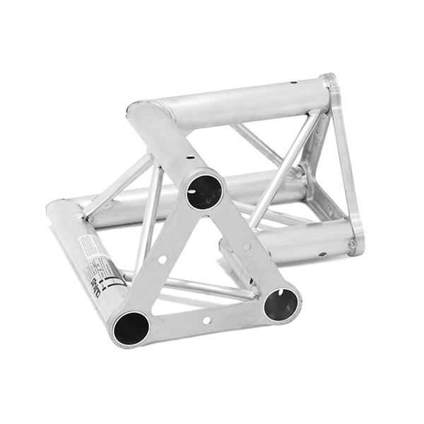 ALUTRUSS TRISYSTEM 2-tie kulmapala 90° PAC-21 50mm putkesta tehty kulma joka sopii Trisystem kokonaisuuksiin. Kulmapalan paino 2,7kg. 2-way corner piece. 2-way corner piece