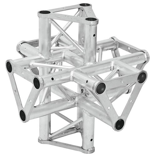 ALUTRUSS TRISYSTEM 6-tie risteyspala PAT-61. 6-way cross piece