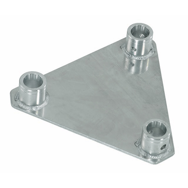 ALUTRUSS TRILOCK päätylevy 6082 QTGP-uros Base/wall-plate female