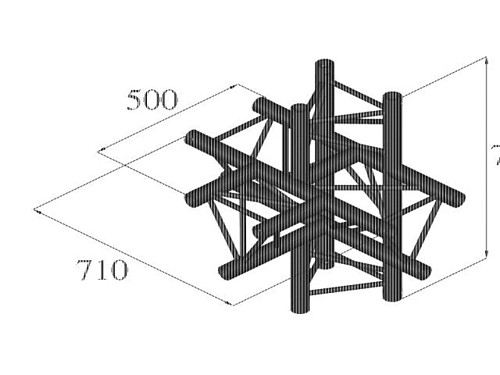 ALUTRUSS TRILOCK QPAT-51 5-way piece \/
