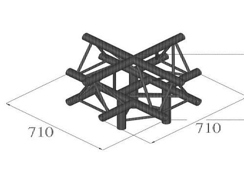 ALUTRUSS TRILOCK QPAC-52 5-way piece /\
