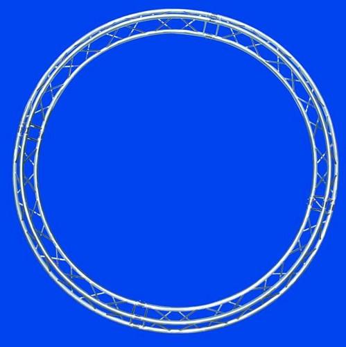 ALUTRUSS TRILOCK circle d=3m (inside), /\ \/ down up, Ympyrätrussi, täydellinen paketti, kasattava!