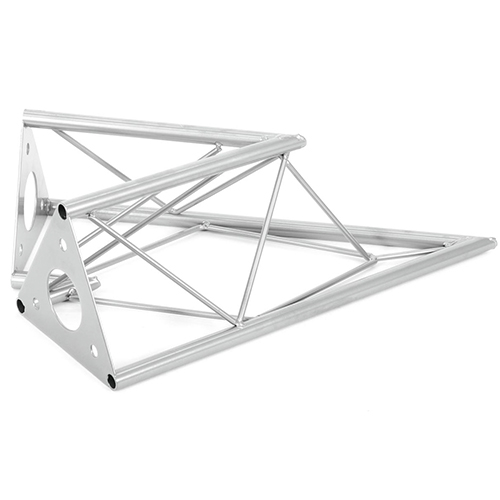 ALUTRUSS DECOTRUSS 2-tie kulmapala 45° SAC-19, terästä. 2-way corner piece