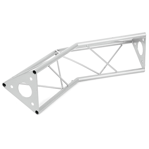 ALUTRUSS DECOTRUSS 2-tie kulmapala 135° SAC-23, terästä. 2-way corner piece