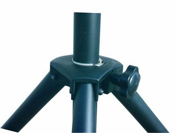 EUROLITE STV-40S Valoteline teräksestä poikkipuomilla, Nostokorkeus maksimi 3,4m, minimi 1,5m sekä paino 8kg. Maksimi kapasiteetti 15kg. soveltuu esim kevyille efekteille tai par-valaisimille.