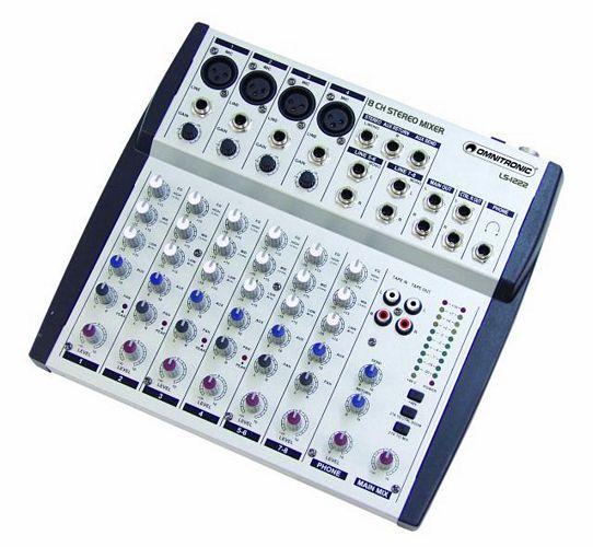 OMNITRONIC RS-802 Äänitys mikseri koti, discoland.fi