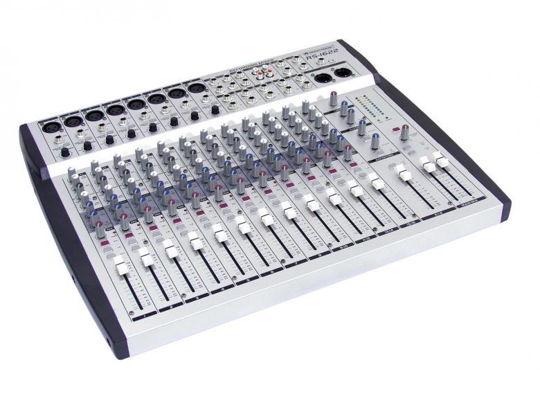 OMNITRONIC RS-1622 16-kanavainen äänit, discoland.fi