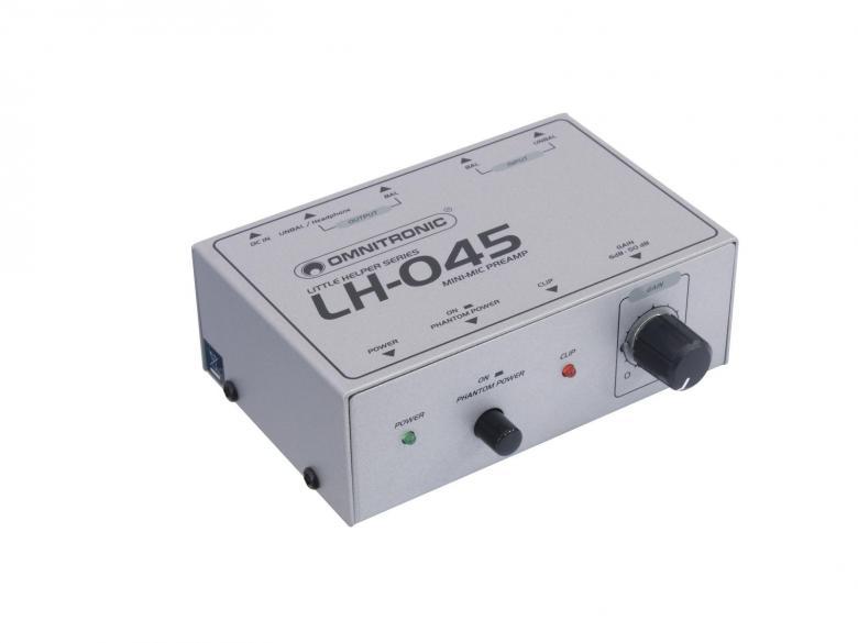 OMNITRONIC LH-045 Mini mikrofonin esivah, discoland.fi