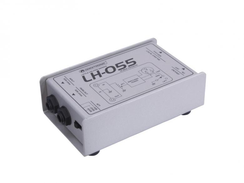 OMNITRONIC LH-055, passive DI-box, passi, discoland.fi