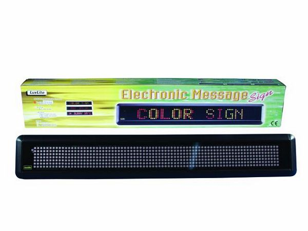 EUROLITE Moving Message IFR 9 colours 108x710x46mm