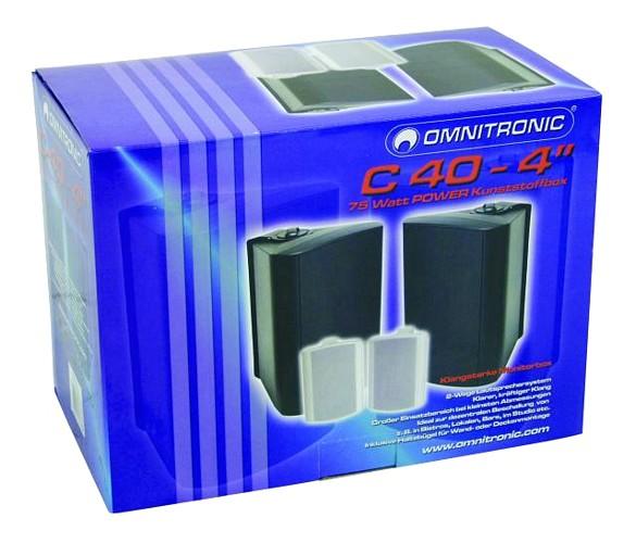 OMNITRONIC C-40 on pieni 4