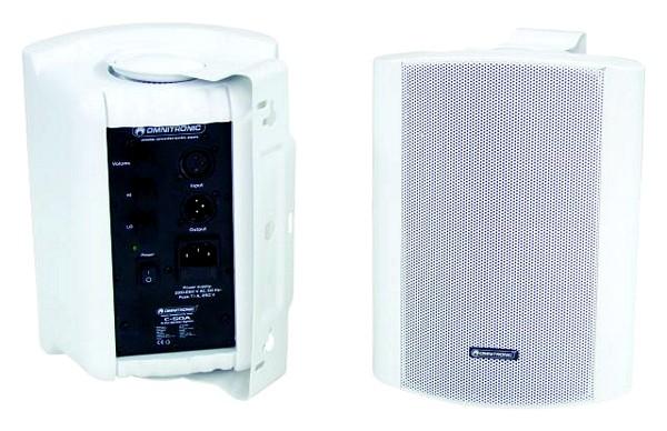 OMNITRONIC C-50A aktiivi monitori Valkoinen 5