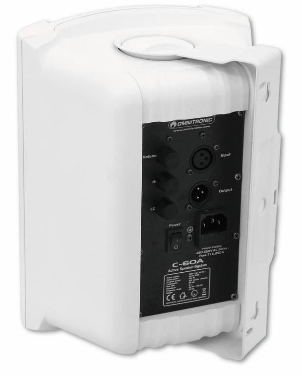 OMNITRONIC C-60A 100W Pieni aktiivikaiutin pari 6
