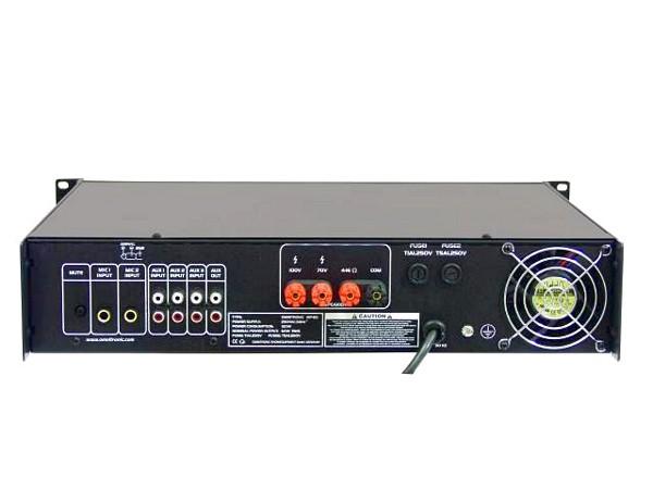 OMNITRONIC MP-60 100V PA Mikserivahvistin, Pa-mixing-amplifier 60W RMS