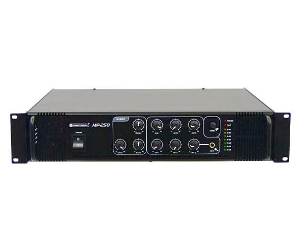 OMNITRONIC MP-250 100V Mikserivahvistin , discoland.fi