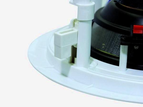 OMNITRONIC CS-6 ceiling speaker round 1,25/2,5/5W RMS