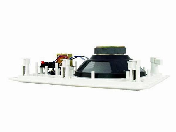 OMNITRONIC CSS-8 Kattokaiutin, kuution muotoinen 100V järjestelmiin. 8