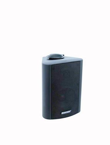 OMNITRONIC WP-4S seinäkaiutin 100V, musta PA wall speaker black 100V RMS 20W