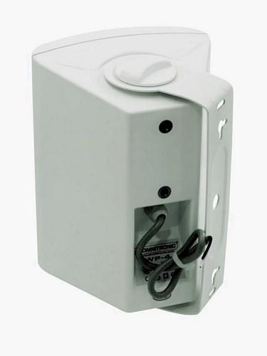 OMNITRONIC WP-4W seinäkaiutin 100V, valkoinen,  PA wall speaker white 20W RMS