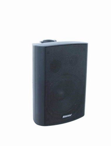 OMNITRONIC WP-6S seinäkaiutin 100V, musta 40W. PA wall speaker black 40W RMS