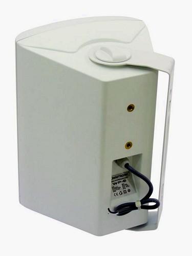 OMNITRONIC WP-6W seinäkaiutin 100V, valkoinen PA wall speaker white 40W RMS