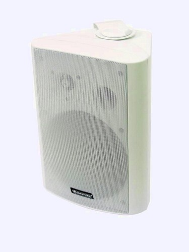 OMNITRONIC WP-6W seinäkaiutin 100V, val, discoland.fi