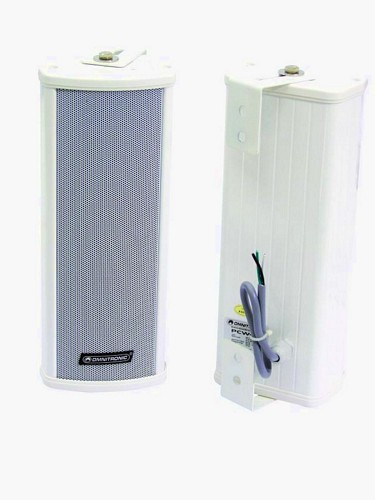 OMNITRONIC PCW-10 Column speaker 10/20W RMS, Splash-proof (IP 44) construction for outdoor use