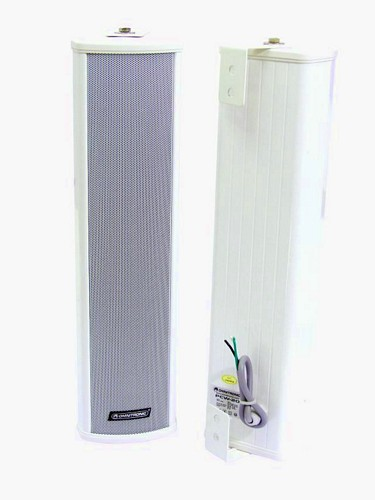 OMNITRONIC PCW-20 Column speaker 20/30W RMS, Splash-proof (IP 44) construction for outdoor use