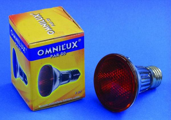 OMNILUX POISTUNUT.... TUOTE....PAR-20 240V/50W E27 flood red