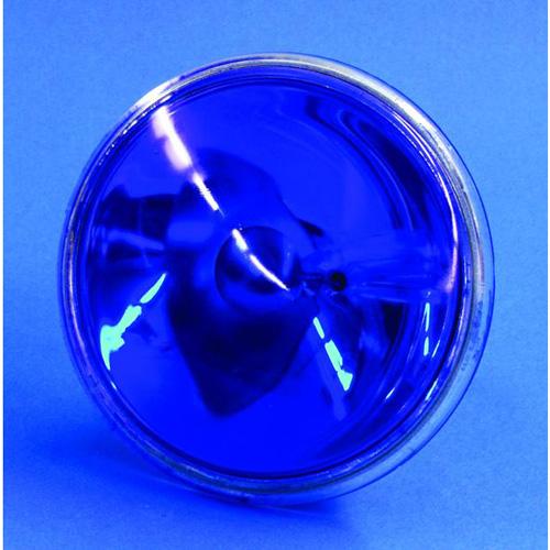 OMNILUX PAR-36 sininen pinspot polttimo 30W 6,4V G53 VNSP blue. Käyttöikä 200h, valoteho 510Lm, keila erittäin kapea.