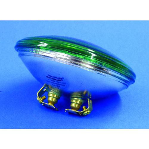 OMNILUX PAR-36 vihreä pinspot polttimo 30W 6,4V G53 VNSP. Käyttöikä 200h, valoteho 510Lm, keila erittäin kapea.
