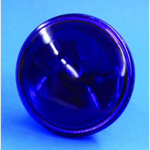 OMNILUX PAR-36 violetti pinspot polttimo 30W 6,4V G53 VNSP. Käyttöikä 200h, valoteho 510Lm, keila erittäin kapea.