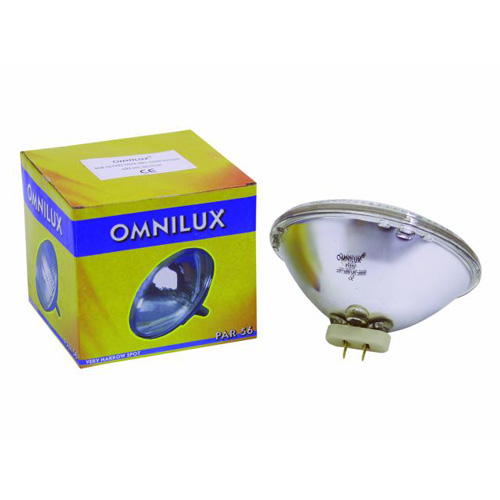 OMNILUX PAR-56 polttimo 300W-230V MFL 2000h Halogeeni, medium valokiila, par 56 lamppu.