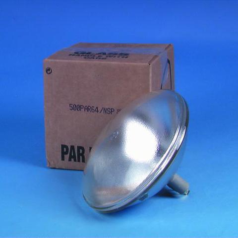 GE PAR-64 120V/500W NSP 2000h, discoland.fi