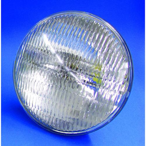 OMNILUX PAR-64 lamppu 240V/500W GX16d MFL 300h H, medium flood kiila, 500W tehoa sekä 300 tuntia käyttöikää, halogeeni ja värilämpö n. 3300k.