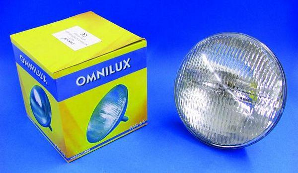 OMNILUX PAR-64 polttimo 500W-240V GX16d , discoland.fi