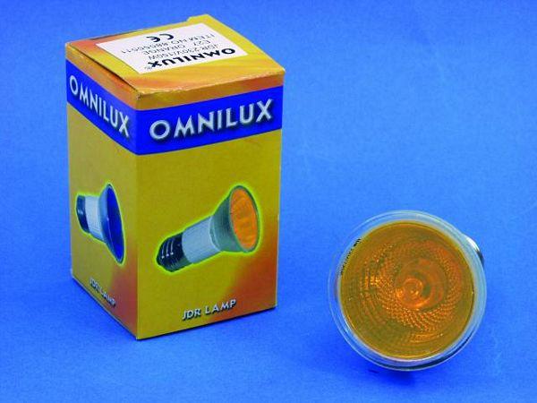 OMNILUX POISTUNUT.... TUOTE....JDR 230V/50W E-27 2000h orange